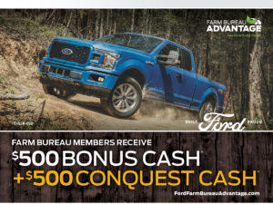 OKFB members receive $500 Conquest Cash