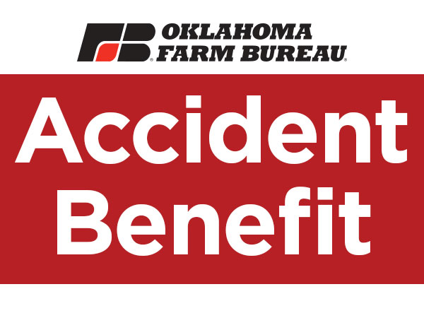 Accident Benefit from Oklahoma Farm Bureau