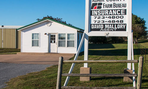 Adair County Farm Bureau - Westville Office