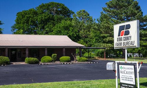 Atoka County Farm Bureau office