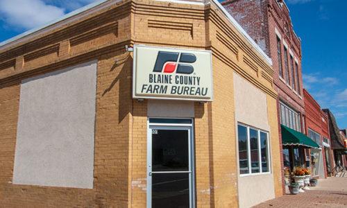 Blaine County Farm Bureau Office - Watonga
