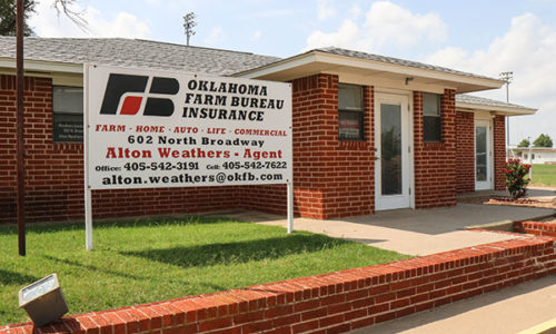 Caddo County Farm Bureau Office - Hinton