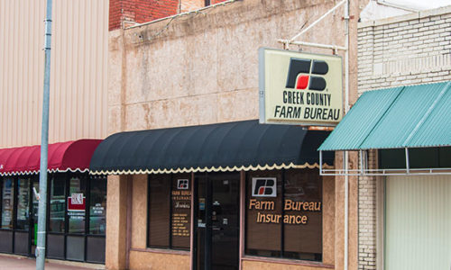 Creek County Farm Bureau Office - Bristow
