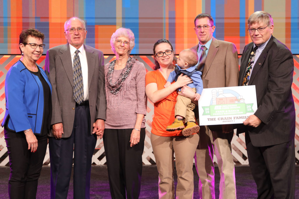 Crain Farm and Ranch Family Recognition
