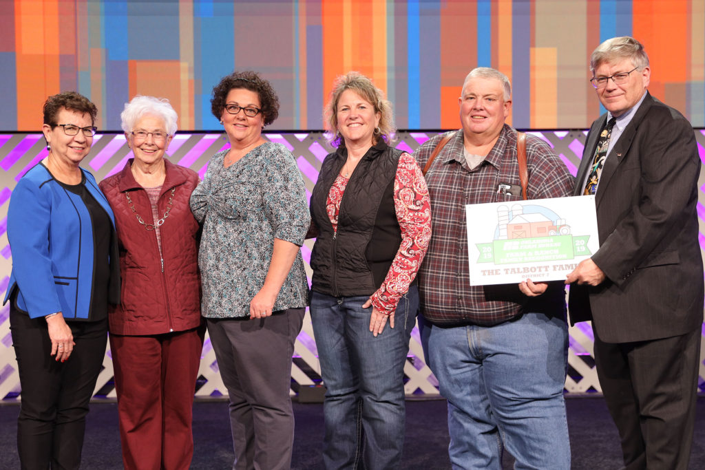 Talbott Farm and Ranch Family Recognition