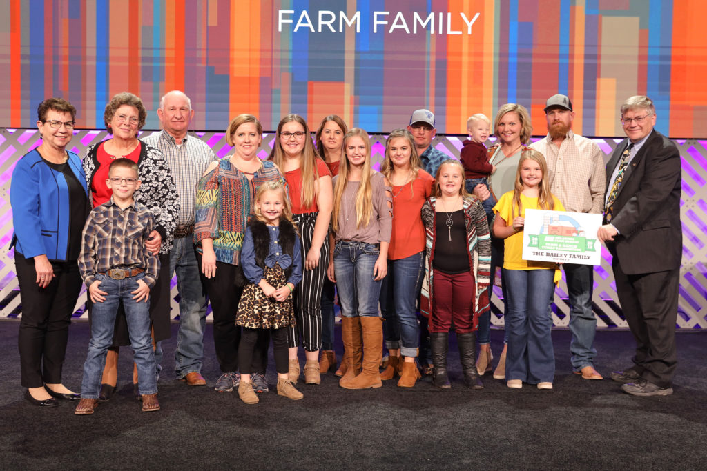 Bailey Farm and Ranch Family Recognition
