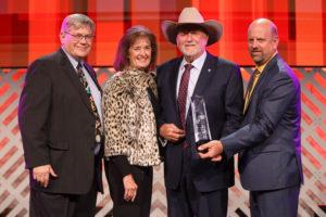 Sen. Larry Boggs receives 2019 Oklahoma Farm Bureau Distinguished Service Award