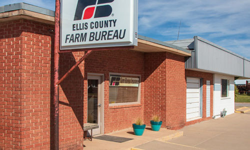 Ellis County Farm Bureau Office - Arnett