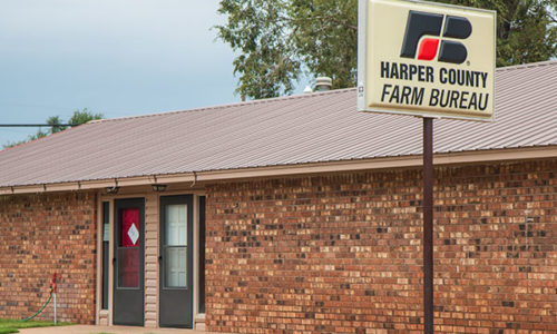 Harper County Farm Bureau Office - Buffalo