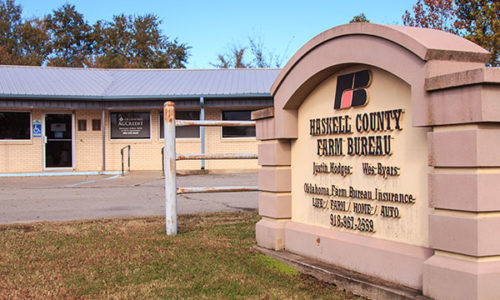 Haskell County Farm Bureau Office - Stiger