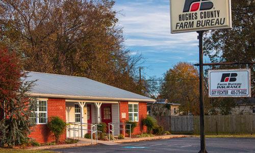 Hughes County Farm Bureau Office - Holdenville