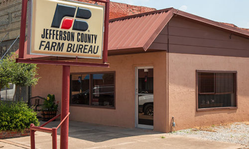 Jefferson County Farm Bureau Office - Waurika