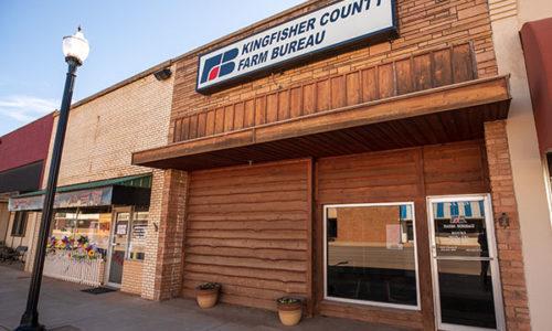 Kingfisher County Farm Bureau Office - Hennessey