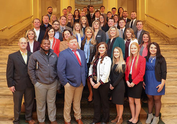 Oklahoma Farm Bureau Young Farmers and Ranchers Legislative Leadership DAy