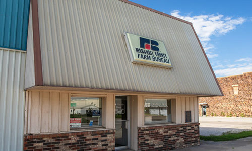 Marshall County Farm Bureau Office - Madill