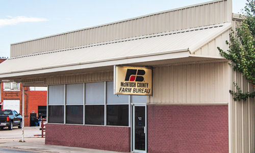 McIntosh County Farm Bureau Office - Checotah