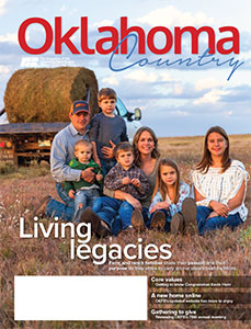 Winter 2020 Oklahoma Country magazine cover