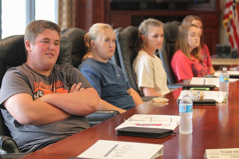 Oklahoma Farm Bureau's Oklahoma Youth Leading Agriculture Program