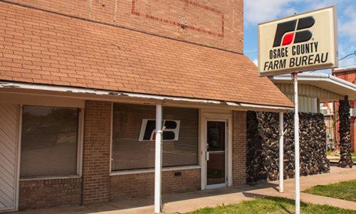 Osage County Farm Bureau Office - Hominy