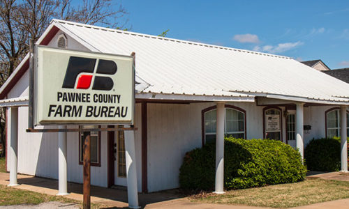 Pawnee County Farm Bureau Office - Cleveland