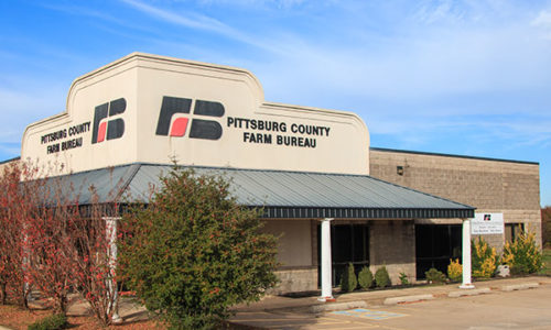 Pittsburg County Farm Bureau Office - McAlester