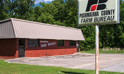 Pushmataha County Farm Bureau Office - Antlers