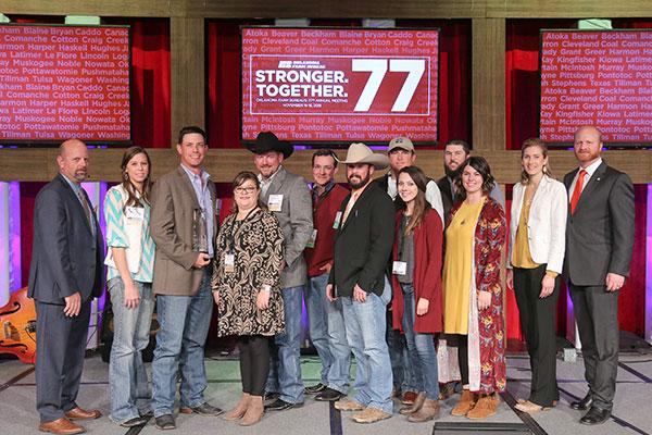 Oklahoma Farm Bureau Charles Roff Award