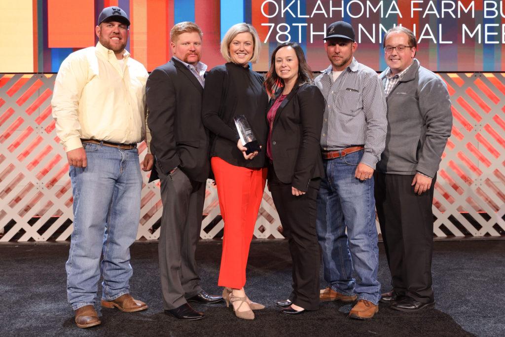 Oklahoma Farm Bureau Charles Roff Award Winners 2019 - Okmulgee County YF&R