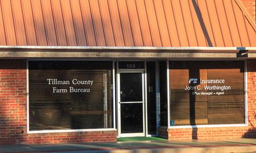 Tillman County Farm Bureau Office - Frederick