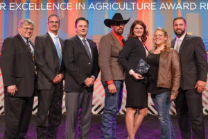 Oklahoma Farm Bureau 2019 Young Farmers & Ranchers Excellence in Agriculture Award Winners - Justin & Chrissy Maxey